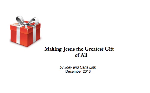 Making jesus the greatest gift of all 187 parenting made practical